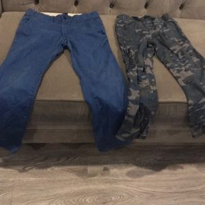 2 pants for boy⭐️👍⭐️ excellent condition